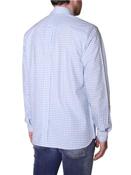 Camicia fred perry quadretto SKY
