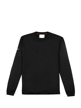 Edit merino crew NIGHTWATCH BLACK