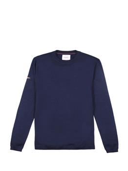 Edit merino crew TUNIC NAVY