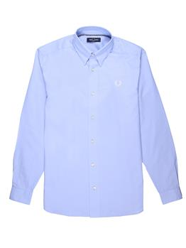 Camicia fred perry botton down LIGHT SMOKE