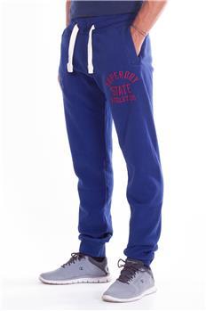 Pantalone tuta superdry uomo BLU Y7