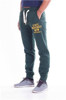 Pantalone tuta superdry uomo VERDE Y7