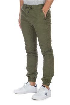 Superdry pantaloni jogging VERDE MILITARE