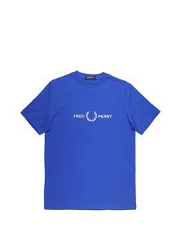 T-shirt fred perry uomo COBALT P0