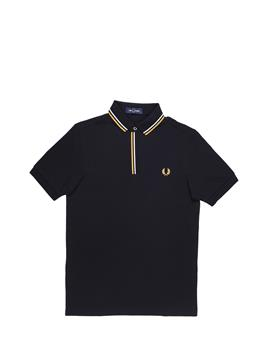 Polo fred perry uomo BLACK P0