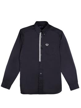 Camicia fred perry uomo BLACK