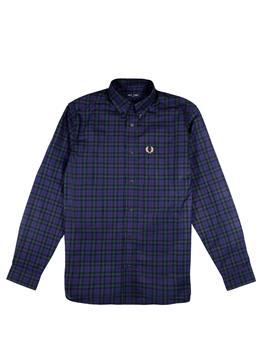 Camicia fred perry uomo CARBON BLUE
