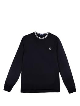 T-shirt fred perry uomo BLACK I0