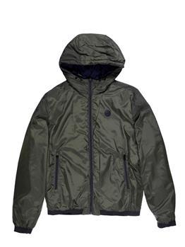 North sails reversible jacket BLU E VERDE MILITARE