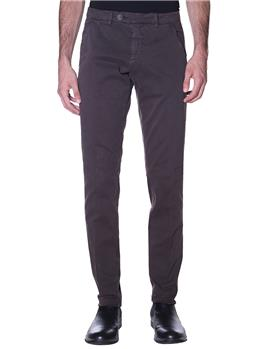 Pantalone chino roy rogers MARRONE