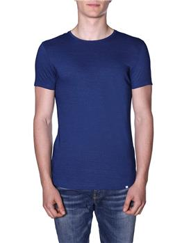 T-shirt olebar brown uomo BLU