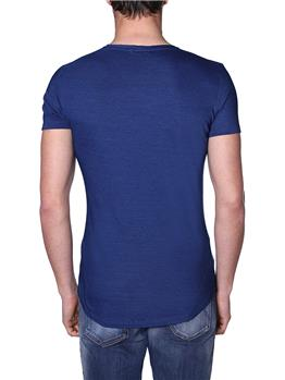 T-shirt olebar brown uomo BLU - gallery 3