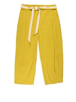 Pantalone manila grace pieghe VERDE ACIDO