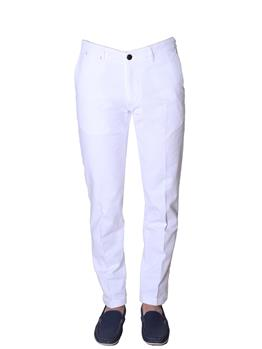 Jeans re-hash elasticizzato BIANCO