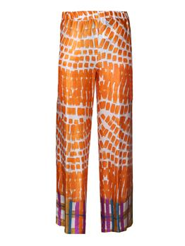 Pantalone manila grace cropped ARANCIO