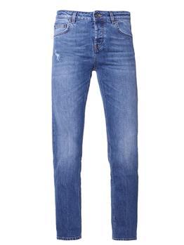 Pantaloni re-hash donna clara BLU