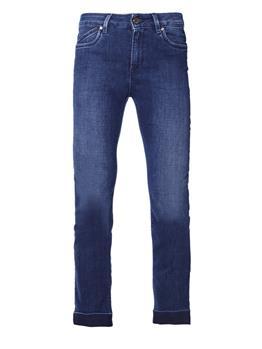 Pantalone re-hash donna viola BLU