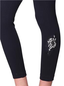 Pantalone twin set pences LAME' - gallery 5