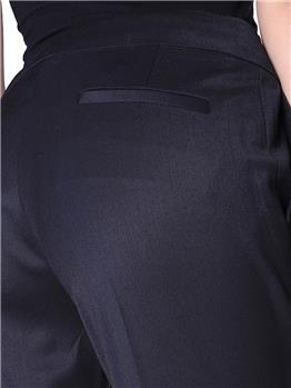 Pantalone twin set sigaretta NERO - gallery 5