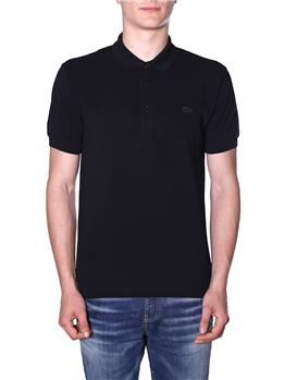 Polo lacoste uomo ice cotton NERO