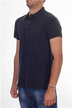 Polo lacoste slim fit lavata NERO