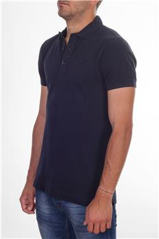 Polo lacoste slim fit lavata BLU P3
