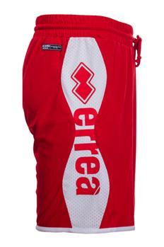 Pantaloncino errea scritta ROSSO P5