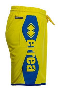 Pantaloncino errea scritta GIALLO P5