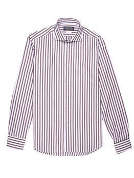 Camicia golf by montanelli BIANCO E MARRONE