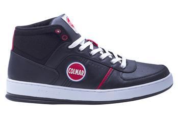 Sneakers colmar alte pelle NERO