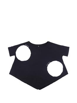 T-shirt manila grace NERO P1