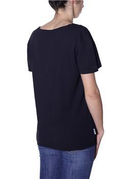 T-shirt manila grace madonna NERO LAVAGNA