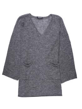 Twin set maglia scollo v GRIGIO ANTRACITE