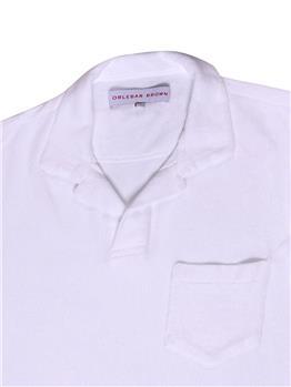 T-shirt orlebar brown spugna BIANCO - gallery 4