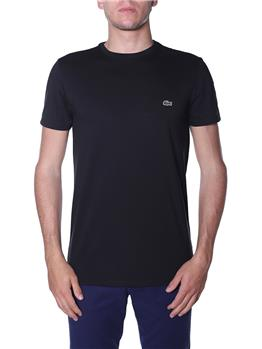 T-shirt lacoste uomo NERO