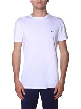 T-shirt lacoste uomo BIANCO