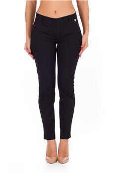 Pantalone twin set stretto NERO