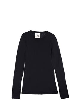 T-shirt semicouture astrelle NERO - gallery 2