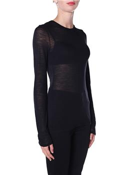 T-shirt semicouture astrelle NERO - gallery 3