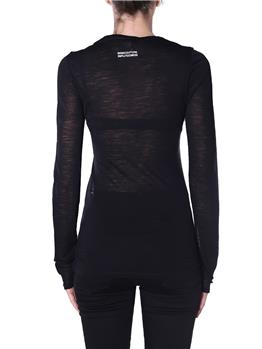 T-shirt semicouture astrelle NERO - gallery 4