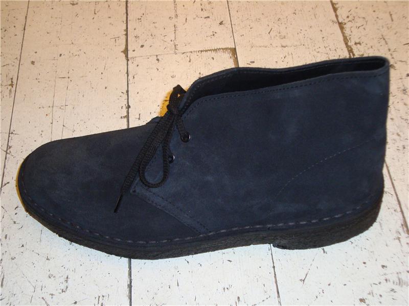 333c217a CLARKS DESERT BOOT UOMO BLU I1