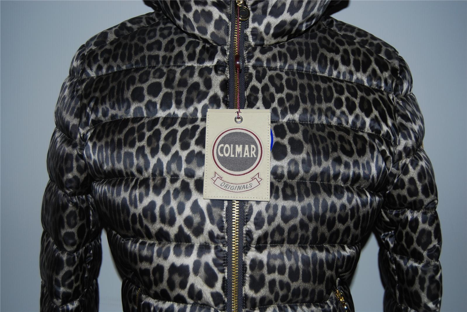 new product 89b71 8d5b8 PIUMINO COLMAR LEOPARDATO MACULATO Q3