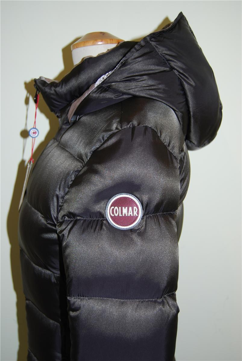 Donna Colmar Q2 Ner0 Lungo Piumino OwpTqv8