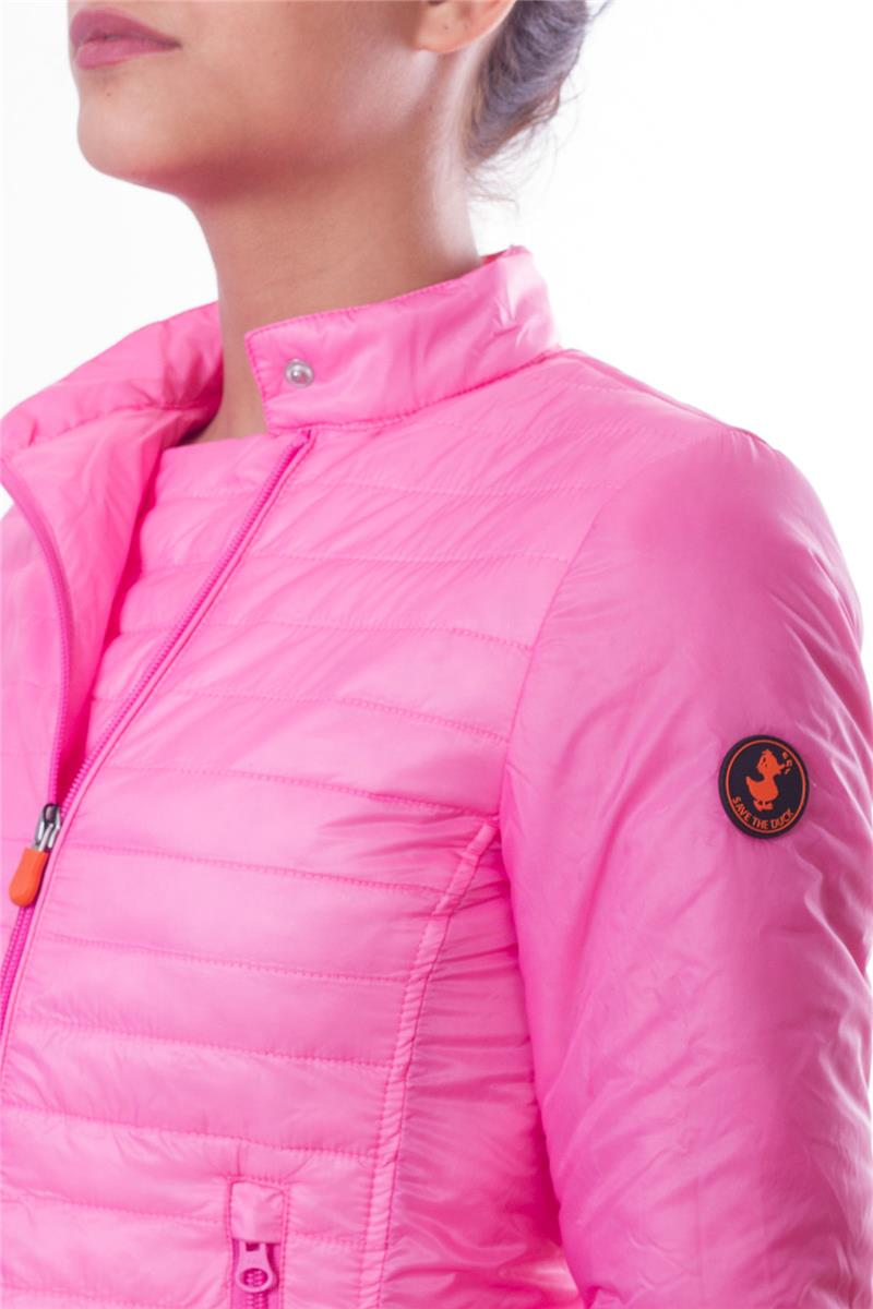 new style 44882 ac22d Save the duck piumino donna ROSA P6