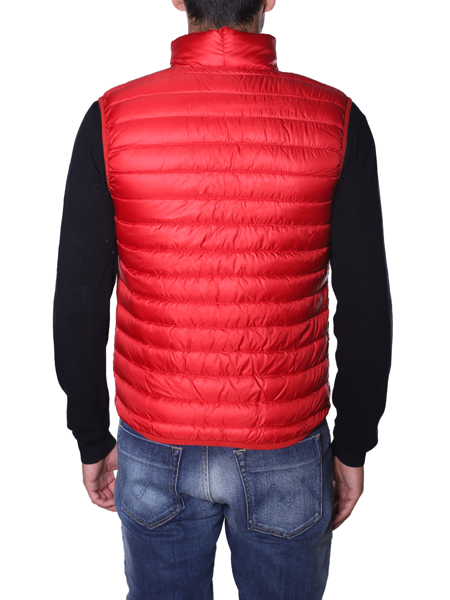 official photos 03844 04efe Aspesi gilet piumino ROSSO
