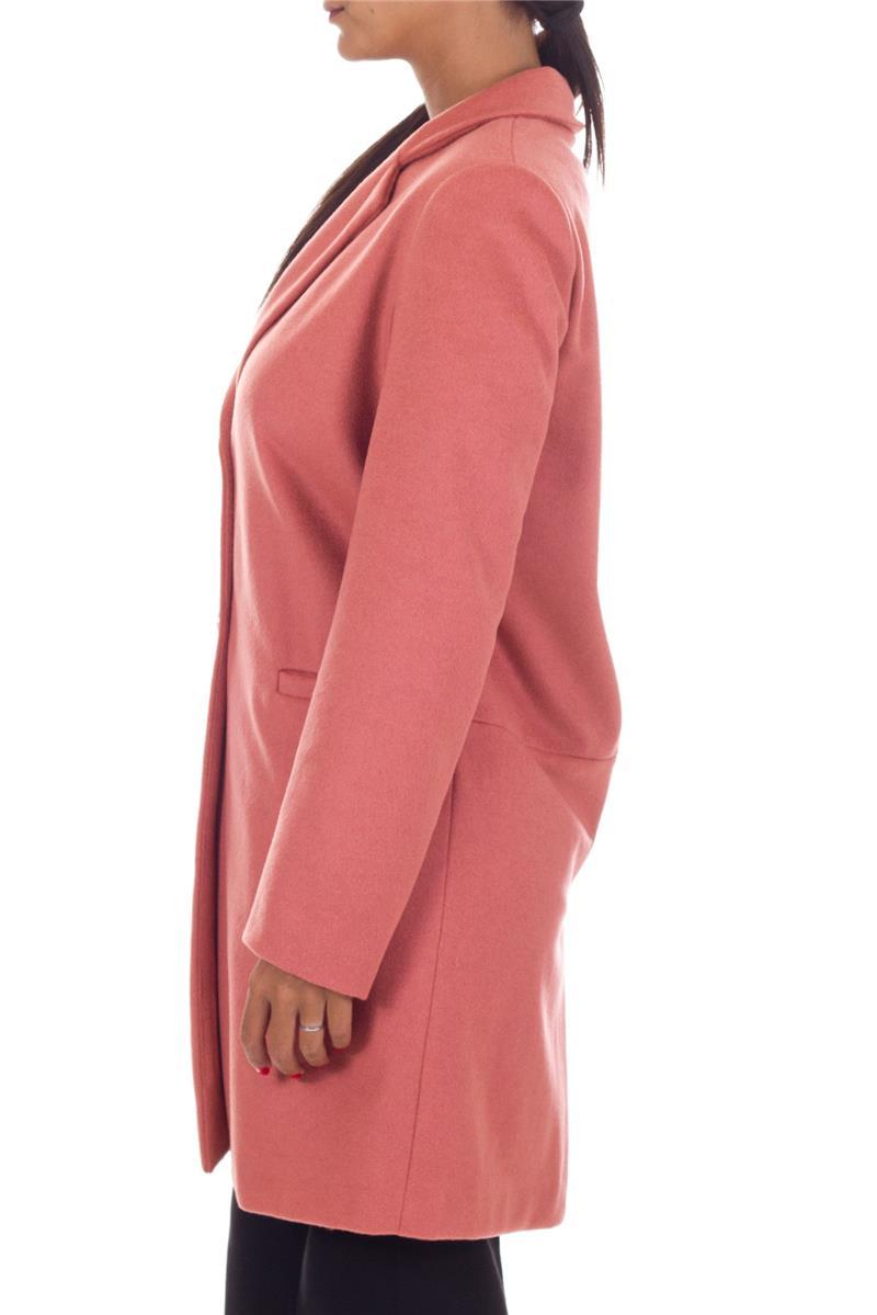 online store c1708 f8326 Cappotto twin set classico ROSA