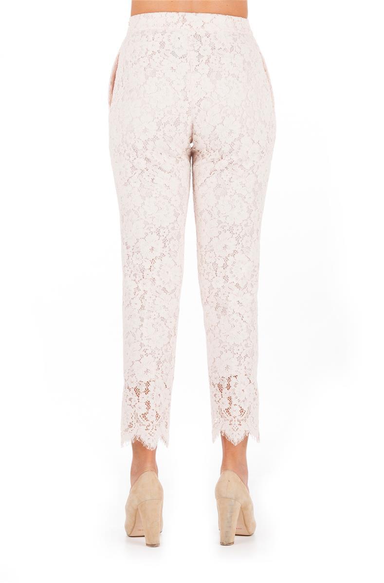 Rosa Set Pantalone Pizzo Twin Pantalone Twin xXqYwvzY