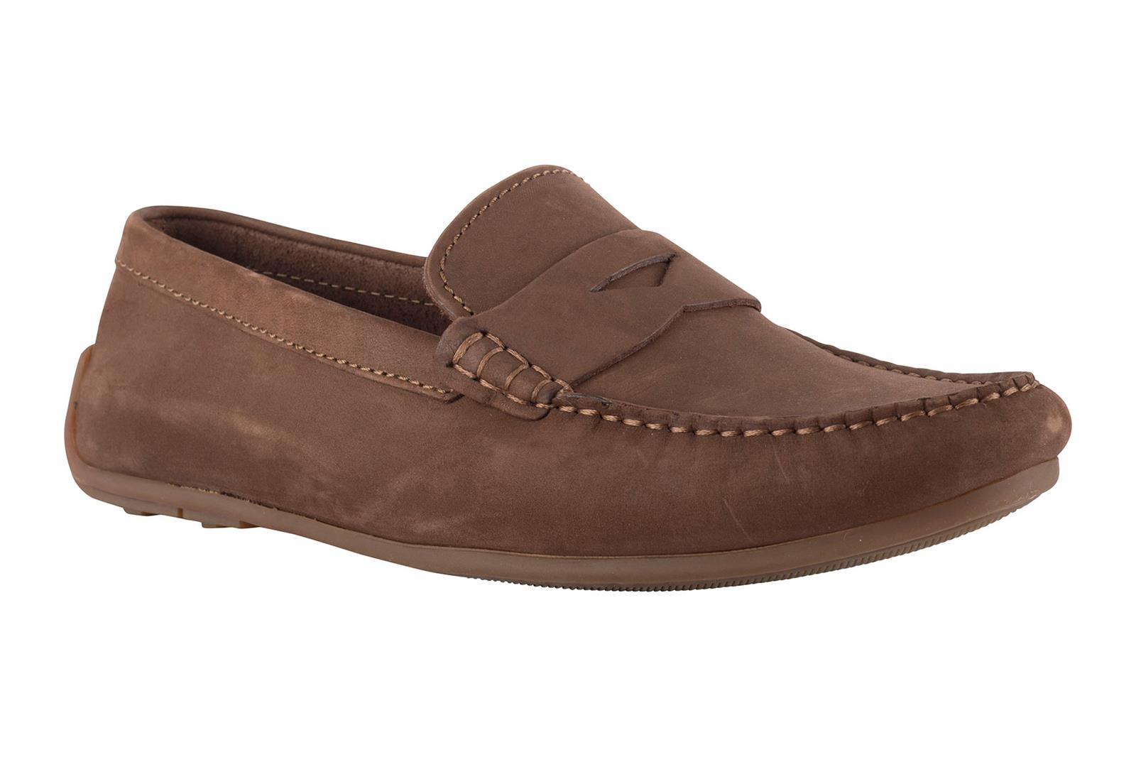 32f92fc5bb Clarks uomo mocassino MARRONE